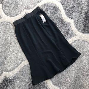 Black NY&C Pencil Skirt Flared